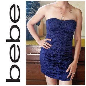 Bebe Sexy Bodycon Strapless Dress